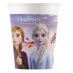 Vasos Frozen 2 Biodegradables (8)91147 Procos