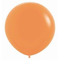 Globos Color Naranja Neón R24 de 60cm aprox. (10 UD)