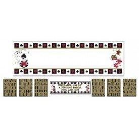 Banderin Casino de 165 x 50,8 cm Personalizable