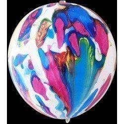 Globos Látex Marble con luz Led (4)