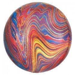 Globo Orbz Marblez Multicolor de 40cm