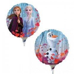 Globo Frozen 2 redondo foil palito4055609 Anagram