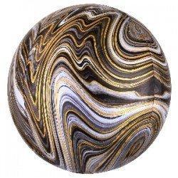 Globo Orbz Marblez Negro de 40cm4139201 Anagram