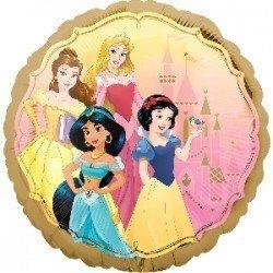 Globo Princesas Disney redondo de 45 cm