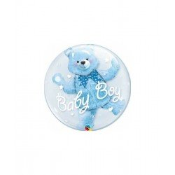 Globo Oso Baby Boy de 60cmQL-29486 Qualatex