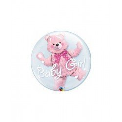 Globo Oso Baby Girl de 60cmQL-29488 Qualatex