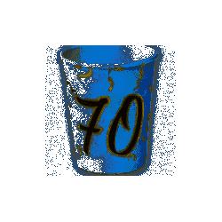 Vasos 70 años de 220ml (8)16001481 Verbetena