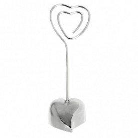 Soporte Corazon enamorado mesa Bodas (10,8 cm)