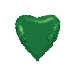 "Globo Corazón Verde de 78cm últra 32"""