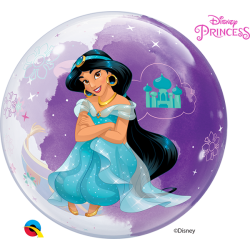 Globo Princesa Jasmine Bubble de 56cmQL-87533 Qualatex
