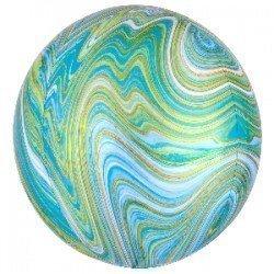 Globo Orbz Marblez Verde de 40cm