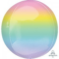 Globo Orbz fusion Pastel de 40cm4055401 Anagram