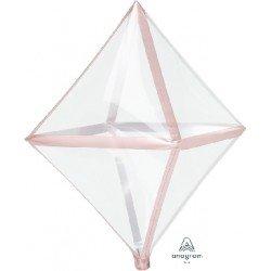 Anglez Transparente Filo Rosa Dorado4107899 Anagram