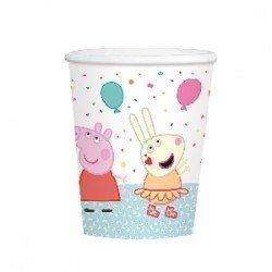 Vasos cartón Peppa Pig Party (8)