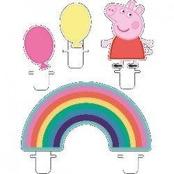 Velas Peppa Pig Party (4 unidades)