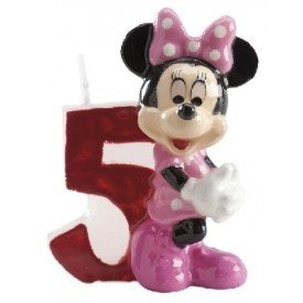 Velas Minnie 5