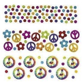 Confeti Hippies360081 Amscan
