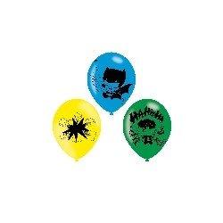 Globos de Batman & Joker de látex (6)9907399 Amscan