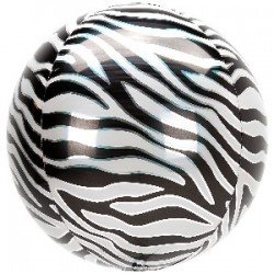 Globo Orbz Animal Zebra 38 x 40cm4210701 Anagram