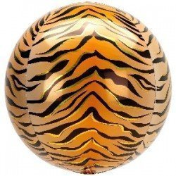 Globo Orbz Animal Tigre 38 x 40cm4211001 Anagram