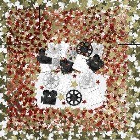 Confeti Camaras Hollywood369000 Amscan