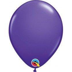 Globo látex color Purple Violet 100Ct (BP)QL-82697 Qualatex
