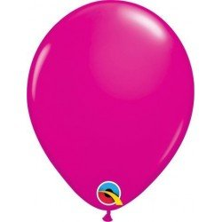 Globo látex color Wild Berry 100Ct (BP)QL-25571 Qualatex