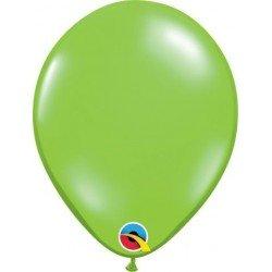 Globos color Verde lima lime green de 13 cm aprox (100ud)QL-48954 Qualatex