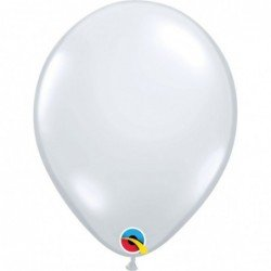 Globos color Diamond Clear 100 und. (BP)