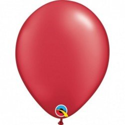 Globos color Prl Ruby Red 25 und. (BP)
