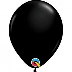 Globos color Onyx Black 100 Und. (BP)QL-43675 Qualatex