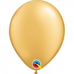 Globos color Gold 100 Und. (BP)QL-43686 Qualatex