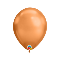 "Globos color copper Chrome Qualatex de 7""- 17cm (100ud)QL-12937 Qualatex"