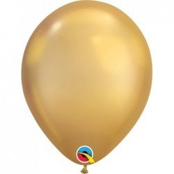 Globos Color  Chrome Gold    100Ct (BP)QL-85111 Qualatex