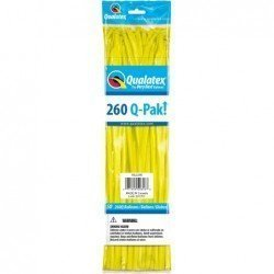 260 Q-Pak Yellow 50 Und. (BP)QL-54618 Qualatex