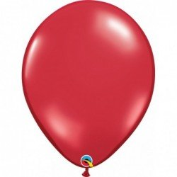 Globos color Ruby Red 50...