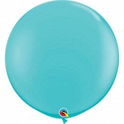 3Ft (91,44cm) Rnd Caribbean Blue 02 Und. (BP)QL-18615 Qualatex