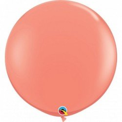 3Ft (91,44cm) Rnd Coral 02 Und. (BP)QL-15883 Qualatex