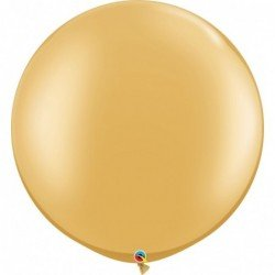 30 pulg. (76,2cm) Rnd Gold 02 Und. (BP)QL-38422 Qualatex