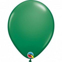 Globos Verde Green de 27,9cm aprox. (6 ud.)