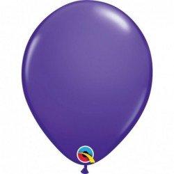 Globos Morado Purple violet de 27,9cm aprox. (6 ud.)