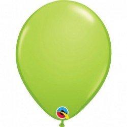 Globos Verde Lima lime green de 27,9cm aprox. (6 ud.)