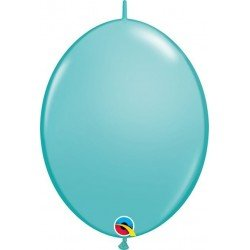 06 pulg. (15,2cm) Qlink Caribbean Blue 50Ctqualatex Quick Link Balloons (BP)QL-90217 Qualatex
