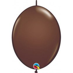 06 pulg. (15,2cm) Qlink Chocolate Brn 50Ctqualatex Quick Link Balloons (BP)QL-90492 Qualatex
