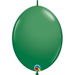 06 pulg. (15,2cm) Qlink Green 50Ctqualatex Quick Link Balloons (BP)QL-90198 Qualatex
