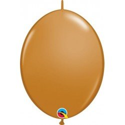 06 pulg. (15,2cm) Qlink Mocha Brown 50Ctqualatex Quick Link Balloons (BP)QL-99865 Qualatex