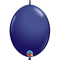 06 pulg. (15,2cm) Qlink Navy 50Ctqualatex Quick Link Balloons (BP)QL-57145 Qualatex
