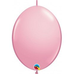 06 pulg. (15,2cm) Qlink Pink 50Ctqualatex Quick Link Balloons (BP)QL-90180 Qualatex