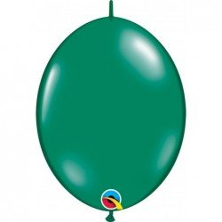 12 pulg. (30,4cm) Qlink Emerald Green 50Ct Qualatex Quick Link Balloons (BP)QL-65271 Qualatex