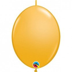 12 pulg. (30,4cm) Qlink Goldenrod 50 Und. Quick Link Balloons (BP)QL-65242 Qualatex